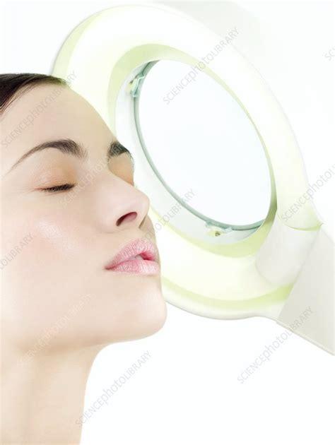 Spl Skincare Madiun skin examination stock image f001 1430 science photo