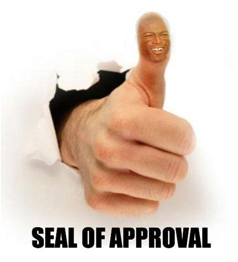 Seal Of Approval Meme - man tested man approved geo f trumper almond shave