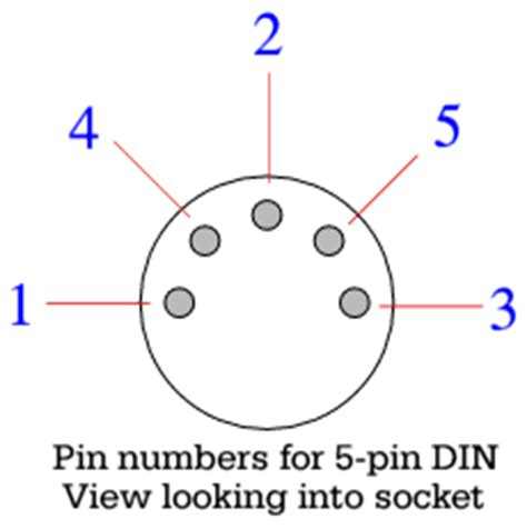 5 pin din wiring diagram 5 wiring diagram