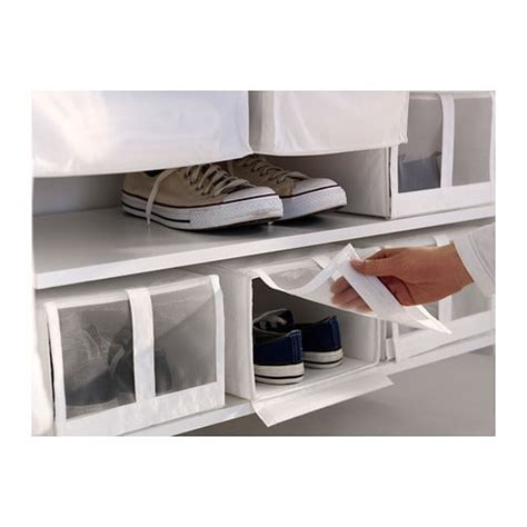 storage boxes for shoes ikea skubb shoe box white 22x34x16 cm ikea
