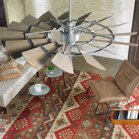 outdoor windmill ceiling fan 60 quot rustic windmill ceiling fan shades of light