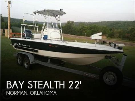 bay boats for sale oklahoma bay stealth 22 boat for sale in norman ok for 24 750