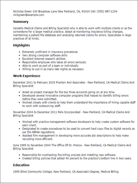insurance summary template the best insurance specialist resume sle