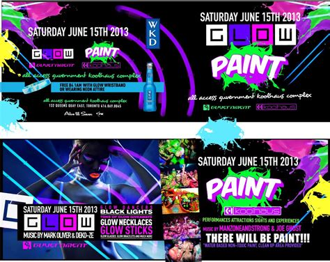 glow in the paint events glow paint free event the guvernment complex june