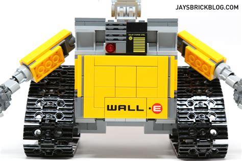 Lego 21303 Wall E By I Bricks review lego ideas 21303 wall e