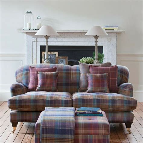 pink sofa scotland 17 best images about tartans tweeds and plaids on