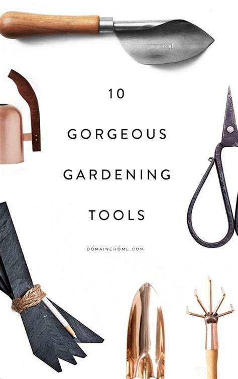 gardening tools the most gorgeous gardening tools for green thumbs
