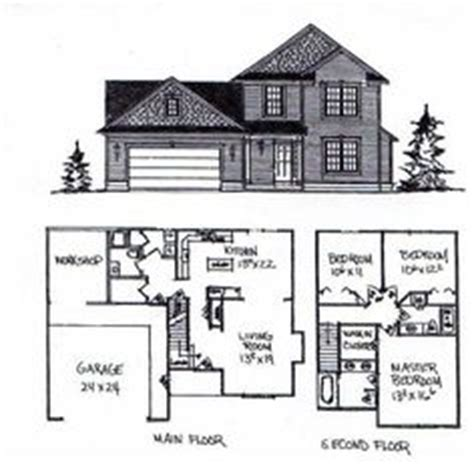 simple 2 story house floor plans 1000 ideas about two story houses on second