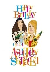 Absolutely Fabulous Fabsugar Want Need 41 by Crude Birthday Quotes Quotesgram