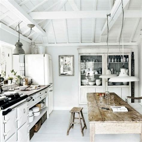 rustic white kitchen all white rustic kitchen home country pinterest