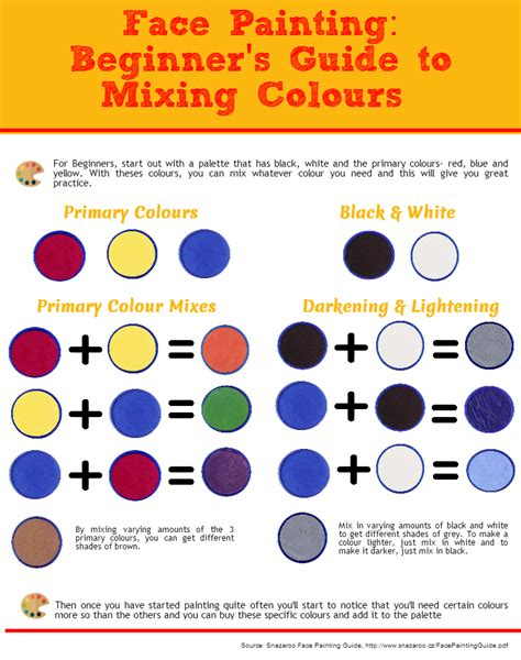 paint color mixing chart pictures to pin on pinsdaddy