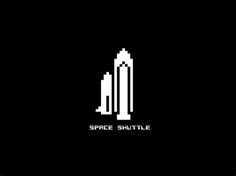 Kaos 8bit 6 8 bit space shuttle wallpaper the retroist
