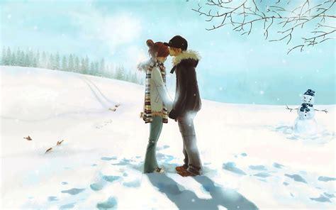 couple wallpaper hd 2015 anime love couple kiss hd wallpaper fond ecran hd
