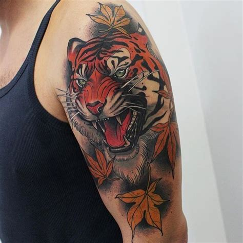 traditional tiger tattoo 1000 ideas about traditional tiger on