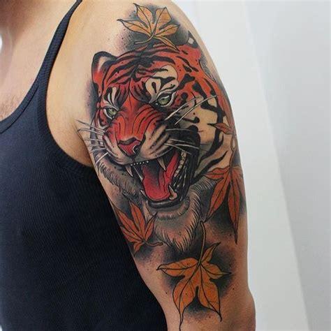 tattoo tiger tattoos ink on instagram regardez cette photo instagram de neotraditionaleurope