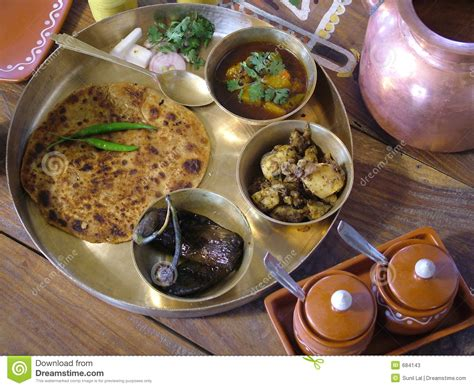 traditional cuisine indian traditional food stock image image of roti dine