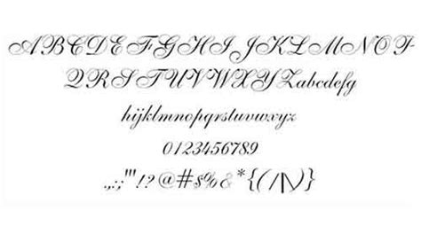 Wedding Font Awesome by Wedding Font 13 And Types To Free
