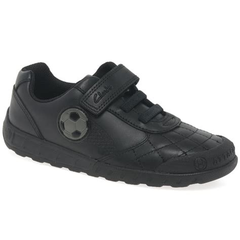 school shoes for clarks clarks leadergame junior boys school shoes charles clinkard