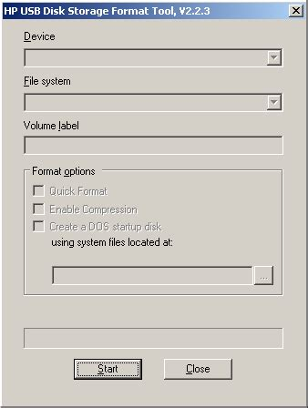 hp format virtual cd tool hp usb disk storage format tool free download and