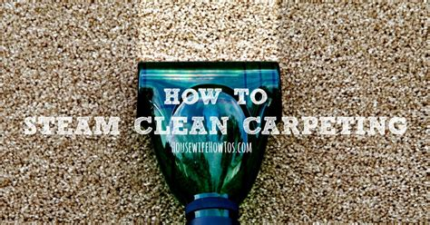 How To Steam Clean Rugs by How To Steam Clean Carpeting How To S 174