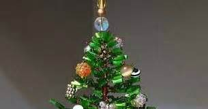 memory wire 4 12 ft christmas tree bead and wire tree table decor the beading gem s journal