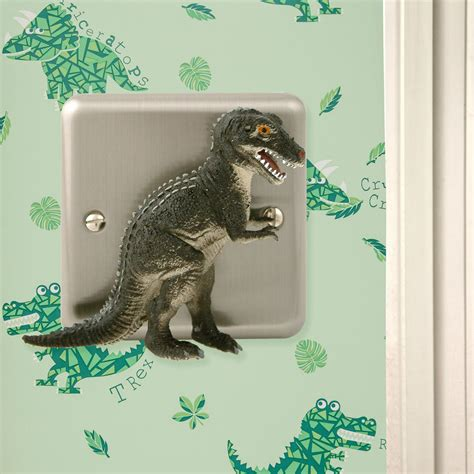dinosaur bedroom accessories uk dinosaur bedroom decor brushed chrome t rex dimmer light