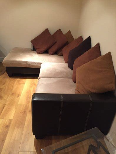 corner sofa and cuddle chair corner sofa and cuddle chair for sale in clarehall dublin