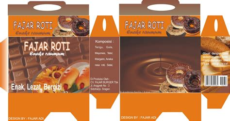 Kemasan Roti Recover Design Agus Painting The World