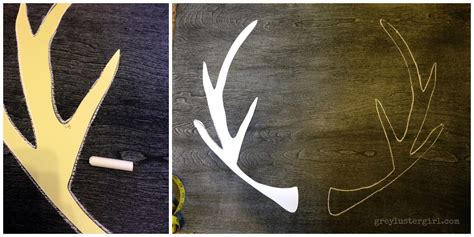 How To Make Deer Antlers Out Of Paper - a is for antlers