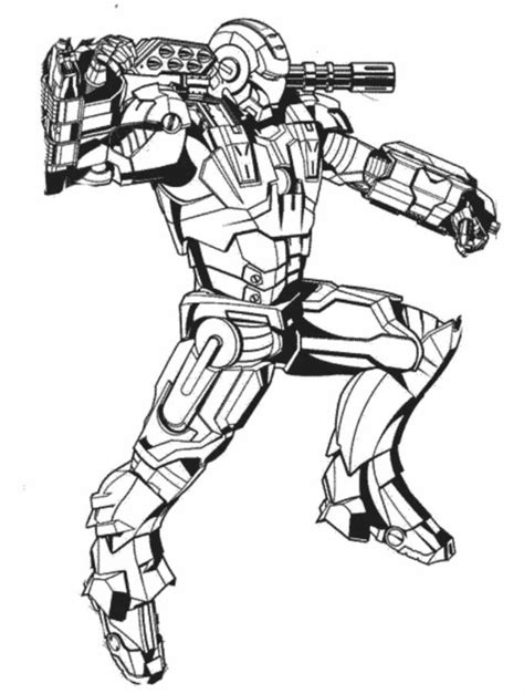 Free Coloring Pages Of Ironman Outline Iron Colouring Pages To Print