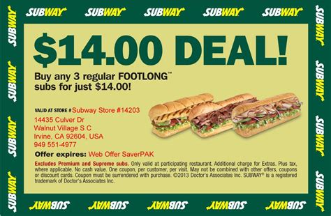printable subway coupons canada printable subway coupons freepsychiclovereadings com