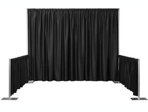 black velour drape equipment star way