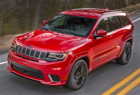 trackhawk jeep hellcat 2018 jeep grand trackhawk revealed with hellcat
