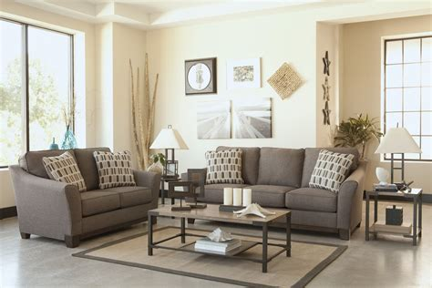 cheap 3 piece living room sets 1 bedroom apartments 2 piece janley sofa living room set in slate