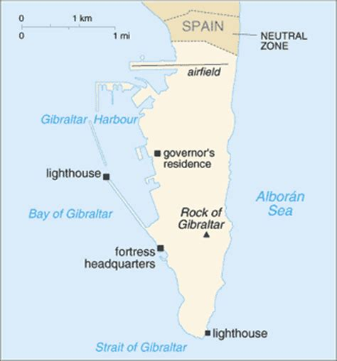 gibraltar on the world map geography for gibraltar