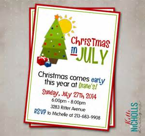 printable christmas in july party by kellinichollsdesigns