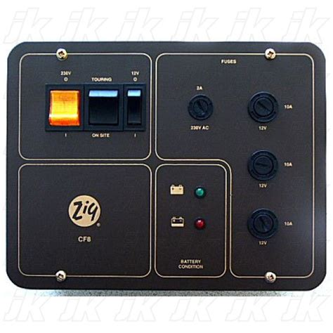zig cf8 charging distribution panel system charging