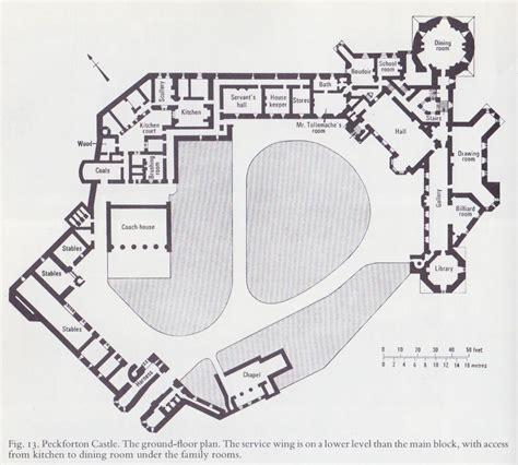d d castle floor plans peckforton castle plan jpg 1008 215 908 architecture