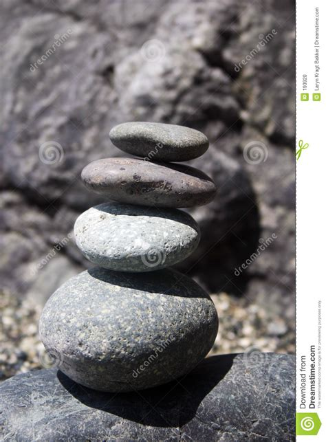 rocks stacked on top of each other balance stock photo