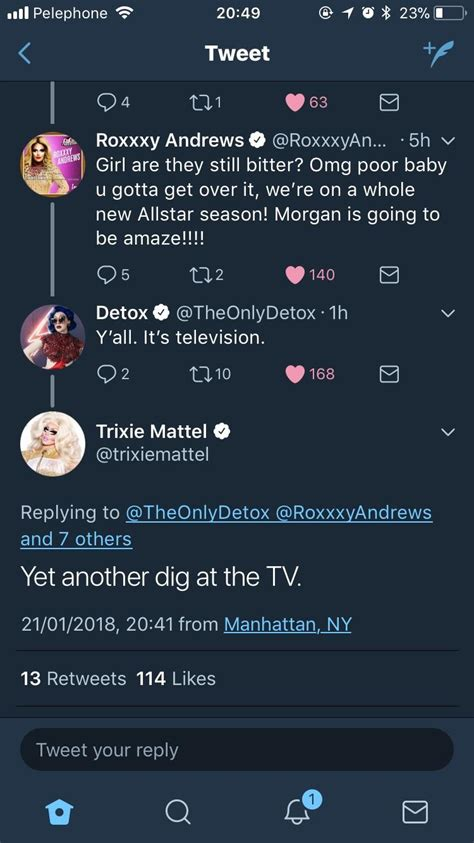 Trixie Detox Drama by Ibncali U Ibncali Reddit