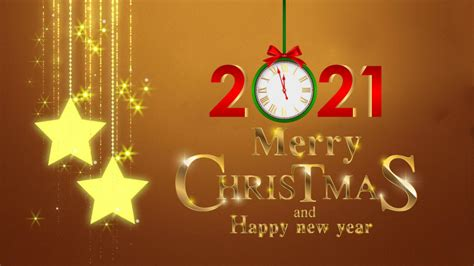 merry christmas  happy  year  gold  ultra hd