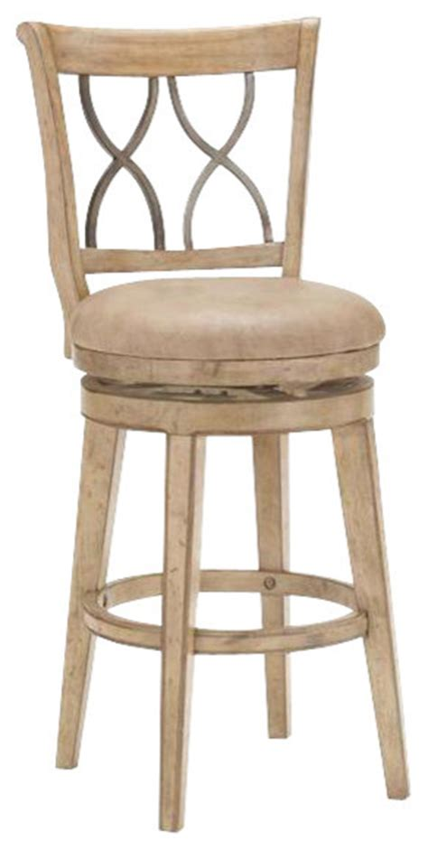 Bar Stools For 47 Inch Counter by Hillsdale Reydon 47 Inch Swivel Bar Stool Farmhouse