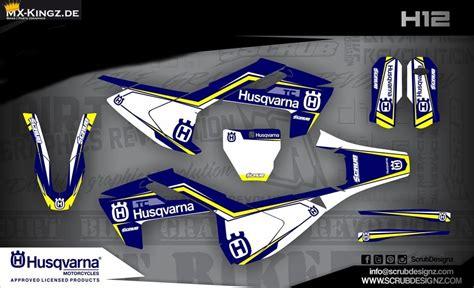 husqvarna factory dekor 2017 husqvarna austria lizenzierte dekore mx kingz motocross shop