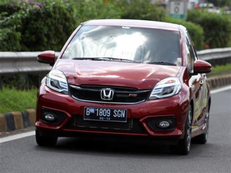 Garnis Depan Dop Brio Rs 2016 suspensi honda brio rs berkarakter sport mobil123 portal mobil baru no1 di indonesia