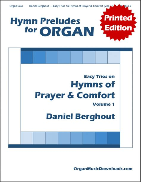 Hymns Of Comfort by Berghout Daniel Easy On Hymns Of Prayer Comfort