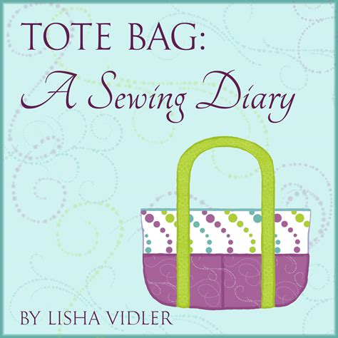 Diary Bag tote bag a sewing diary yesterday s thimble