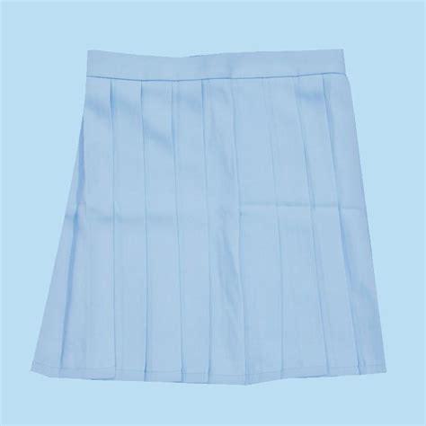 pastel blue skirt kokopiecoco