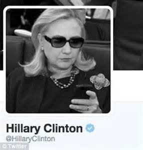 hillary clinton removes photo  inspired texts