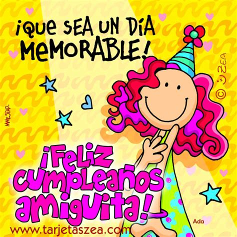 imagenes bonitas de cumpleaños para tu amiga tarjetas de cumplea 241 os para felicitar a una amiga ツ
