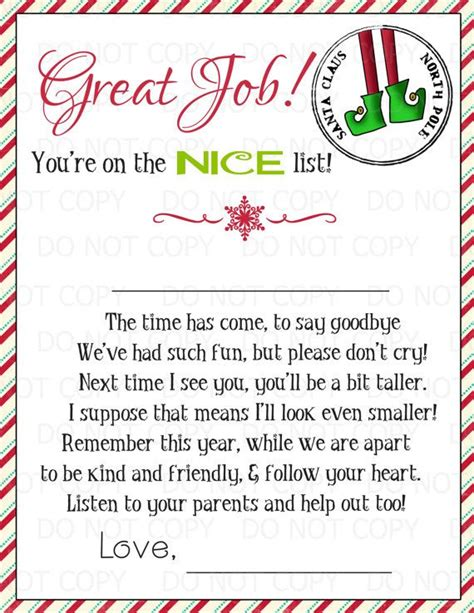 printable magic elf story 64 best images about elf on the shelf on pinterest